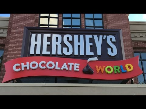 Hersheypark Chocolate World POV 4K NEW FOR 2016! On-Ride Hershey's Chocolate Tour + Singing Cows!