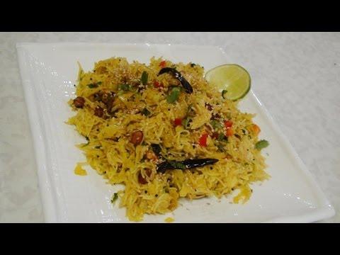 Savory Vermicelli Recipe- Thin Noodles - Sevai Upma - Indian Recipes by Bhavna