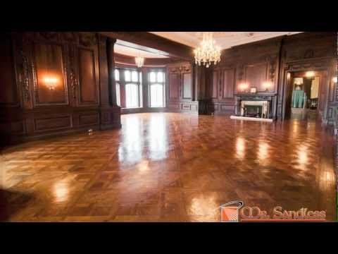 Casa Loma - Oak Room Floor Refinishing
