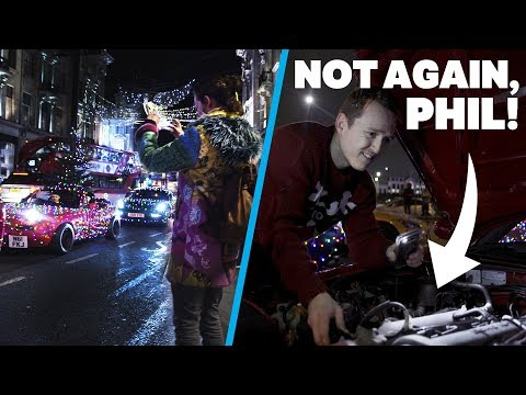 How We Wrapped Our Cars In Lights & Why Phil Almost Ruined It