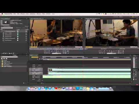 Audio and Video Syncing with Premiere Pro CS5.5 - Tutorial