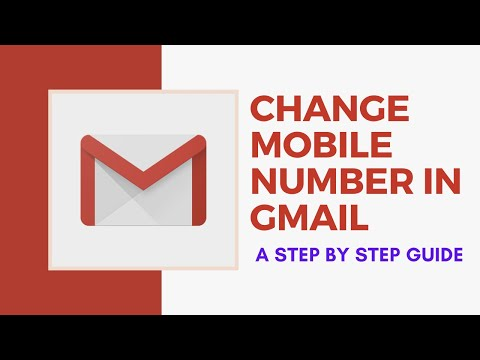 How to Change Gmail Account Mobile Number Step by Step