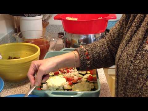 Fresh Vegetable Turkey Italian Sausage Lasagna
