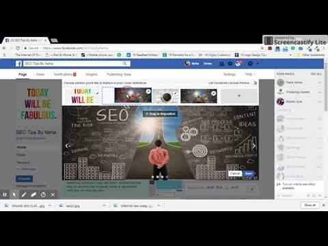 How to Upload Multiple Images in Cover Image Section of Facebook Page