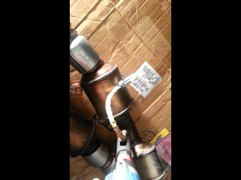 2013 camaro v6 lfx high flow cats install part 2