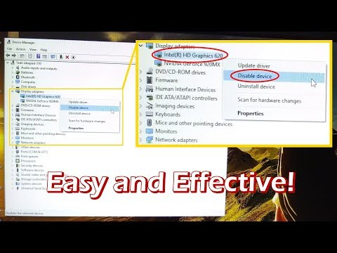 Force Laptop to Run with Dedicated Graphic Card – Easy and Effective way