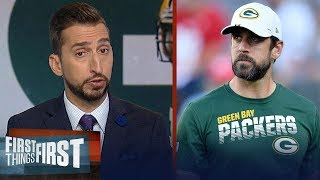 Aaron Rodgers needs to play like the 1st half of his career - Nick Wright | NFL | FIRST THINGS FIRST