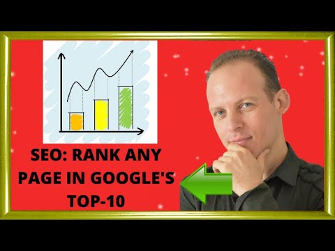 SEO: How to make any page or website rank in Google top-10 search results