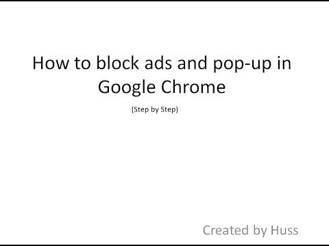 How to block ads and popup on chrome 100% Working