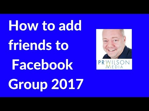 How to invite people to your Facebook group 2017