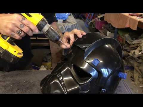 Tie Pilot helmet assembly