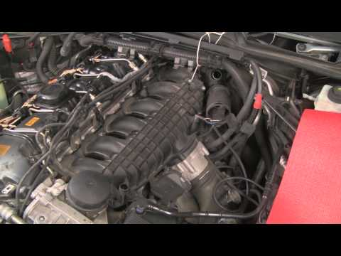 Cleaning carbon from intake ports and valves on BMW and MINI turbo engines N54 N55