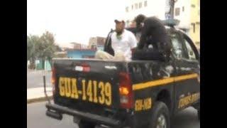 Tercer hombre fue capturado por infringir el toque de queda