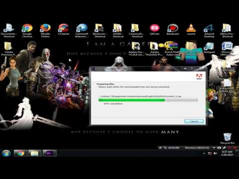 cara install adobe premiere pro cs6 Windows 7/8/9 (32Bit/64Bit)