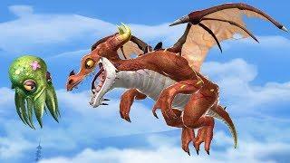 НОВЫЙ ДРАКОН И НОВЫЙ ПИТОМЕЦ! ТУЛХУ И ПЛАМЯ! Hungry Dragon