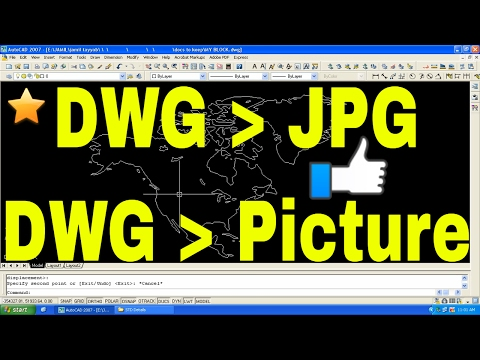 AutoCAD Printing to JPG, JPEG or PNG High Res Picture - Autocad DWG Convert to jpg online Tutorial