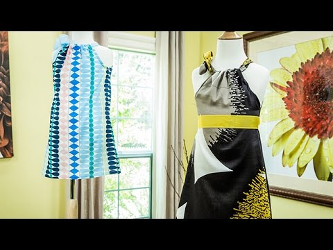 How To - Ken Wingard's DIY Pillowcase Dresses - Hallmark Channel
