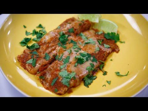 Recipe Rehab Season 1 Recipe How-To: Cheese Enchiladas With Smoky Chipotle Sauce