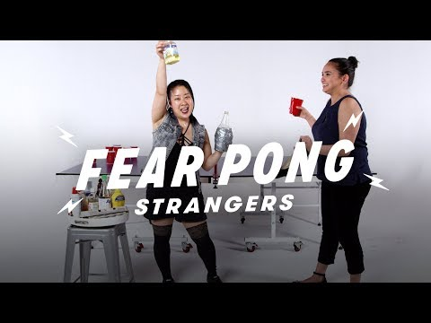 Strangers Play Fear Pong (Marie vs. Nikki) | Fear Pong | Cut