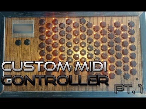Custom MIDI Controller Overview - Shaping The Silence