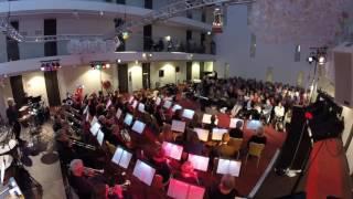 Gespeeld tijdens het concert op 20 november 2016 ter gelegenheid van het 40 jaar bestaan van de Kleine Harmonie, een van de twee harmonie-orkesten van de Koninklijke Harmoniekapel Delft (http://www.harmoniekapel.nl)