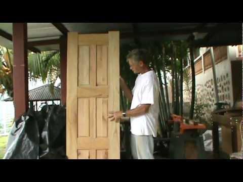 How To Make A Six Panel Door