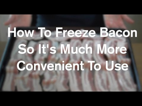 How To Freeze Bacon For Recipes And Convenience - AnOregonCottage.com
