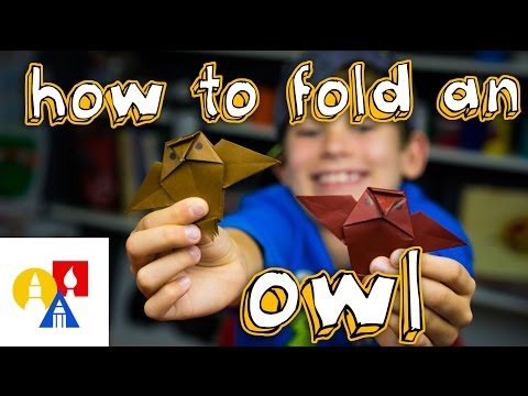 How To Fold An Origami Owl
