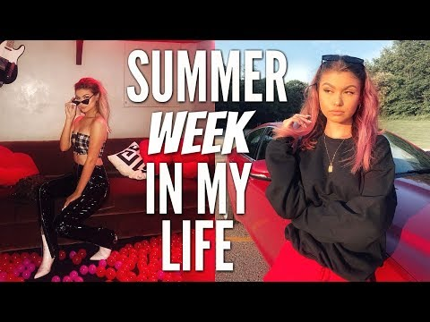 SUMMER WEEK IN MY LIFE | NYC + DYEING MY HAIR PINK