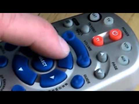 How to program your DISH Network remote to your tv   YouTube