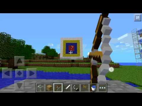 Minecraft pe target practice