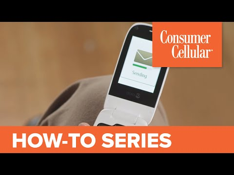 Doro PhoneEasy 626: Sending and Receiving a Text Message (5 of 9) | Consumer Cellular