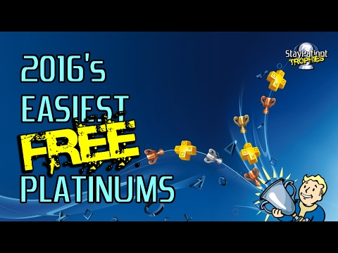 2016's Easiest FREE PS4 Platinums (PS+ Instant Game Collection)