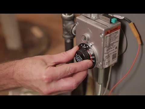 How to Adjust the Temperature on Your Natural Gas Water Heater