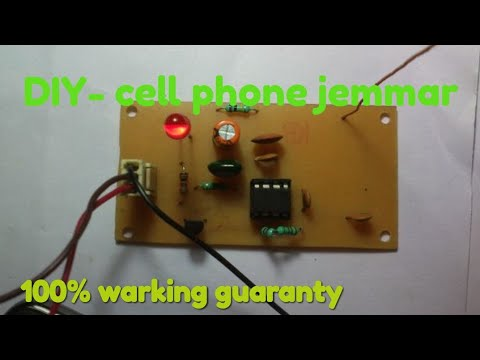 Easy Builds-| DIY Cell phone jammer (100% warking guaranty)