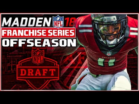 Madden 18 Franchise Mode - Offseason - FREE AGENCY & NFL DRAFT