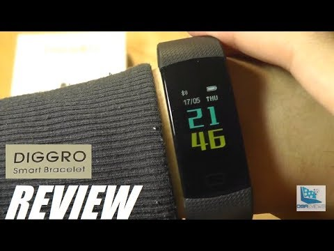 REVIEW: DIGGRO DB-07 - Budget Color Fitness Tracker ($20