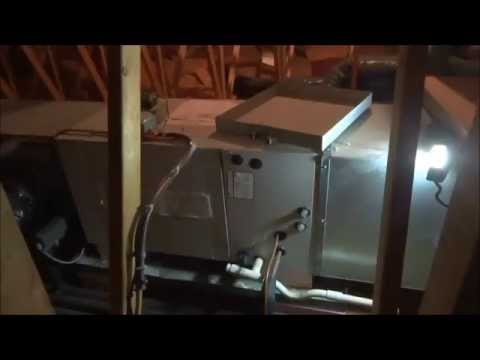 hvac:replace rotted evaporator pan on first company air handler