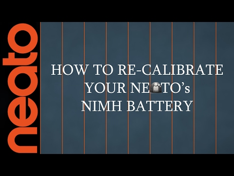How To Calibrate Neato's Nimh Battery