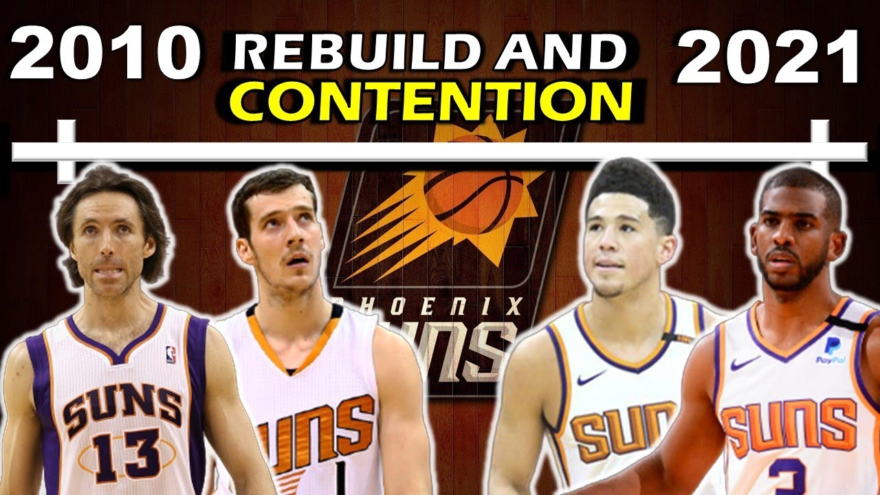 Timeline of the PHOENIX SUNS' REBUILD and RETURN to CONTENTION