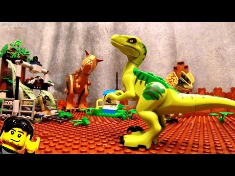 All LEGO Jurassic World: Fallen Kingdom dinosaurs & sets together!