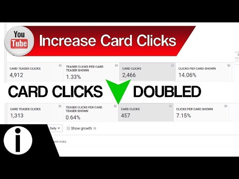 How to Get More YouTube Card Clicks – Increase YouTube Card Clicks | YouTube Tips