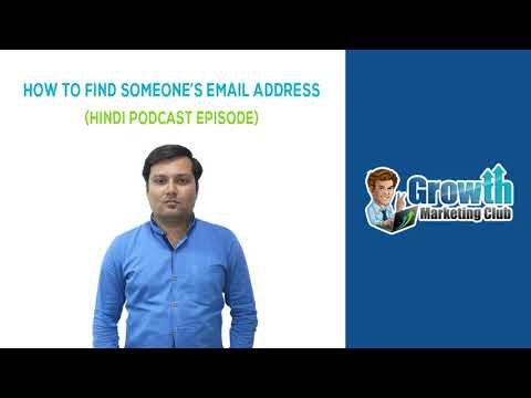 How To Find Someone's Email Address - Ep.#05