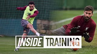 Inside Training: 24 Goals and 8 top saves from Liverpool