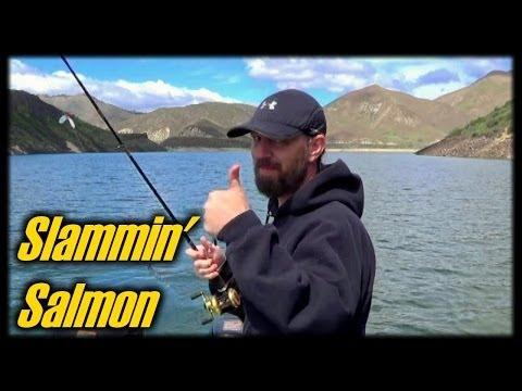 Kokanee Salmon Fishing - Trolling Tactics