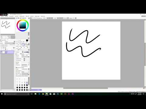 Setting Up Paint Tool Sai for Line Art