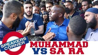 Mohammad Hijab Challenges SA RA To Fight 😩 | Speakers Corner