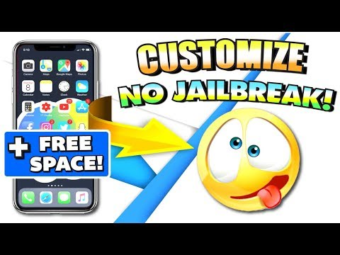 How To CUSTOMIZE Your iPhone iOS 11 - 11.1.2 & iOS 10 - 10.3.2 WITHOUT JAILBREAK