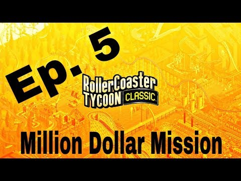 RCT Classic - Million Dollar Mission S2 Ep. 5 *Synchronized Looping Roller Coasters*