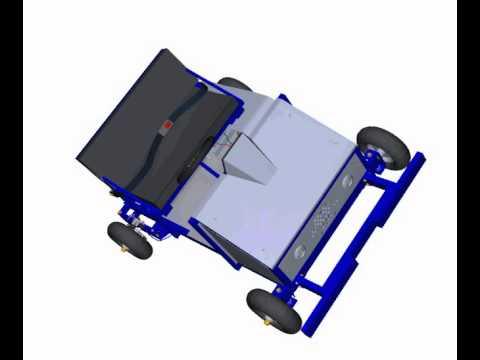 Go kart 3D PDF animation
